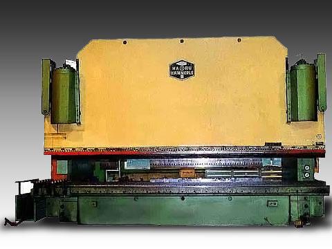 3-ポイント NCプレスブレーキ 3P-500-60